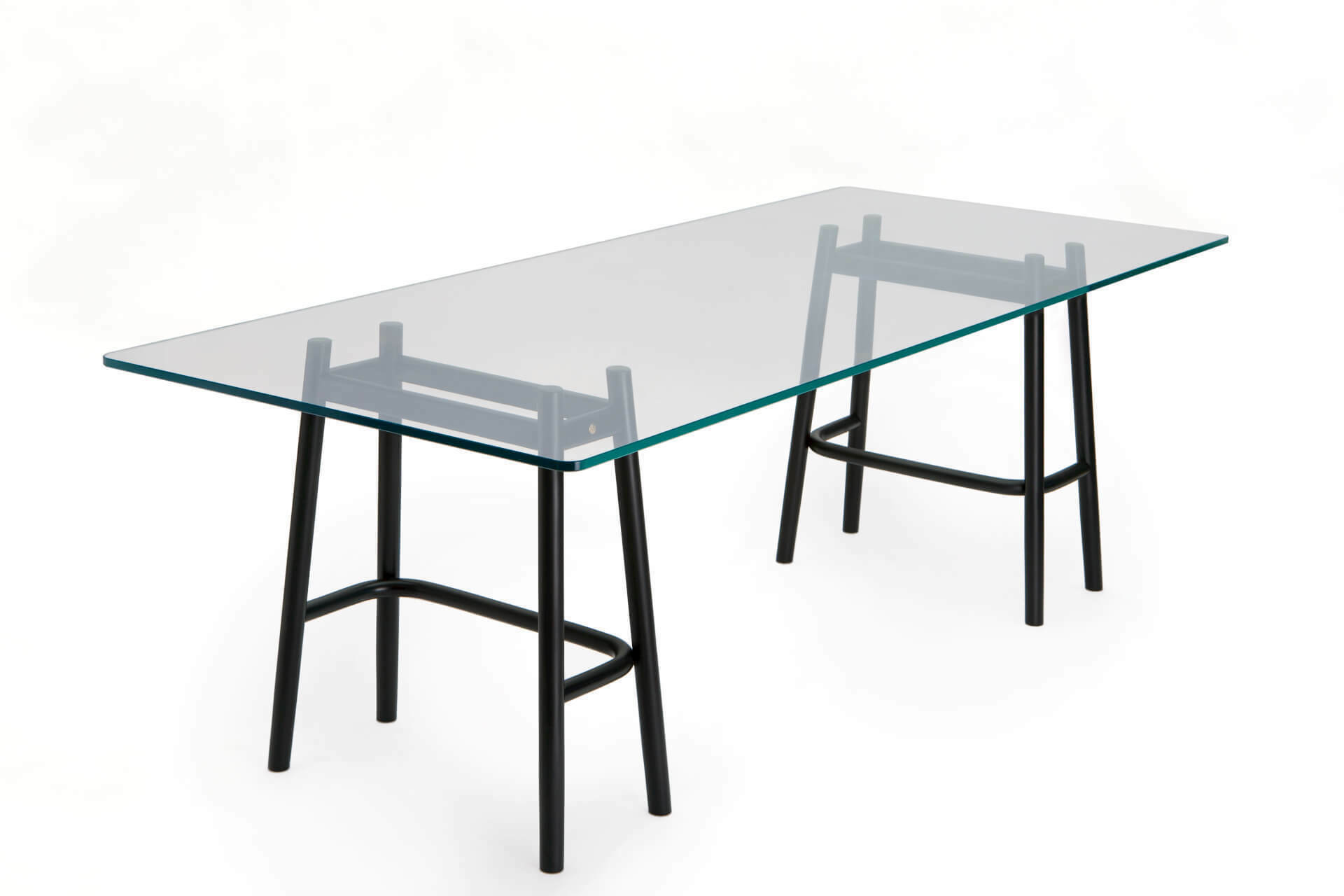 Single Curve Dining Table – Gebrüder Thonet Vienna