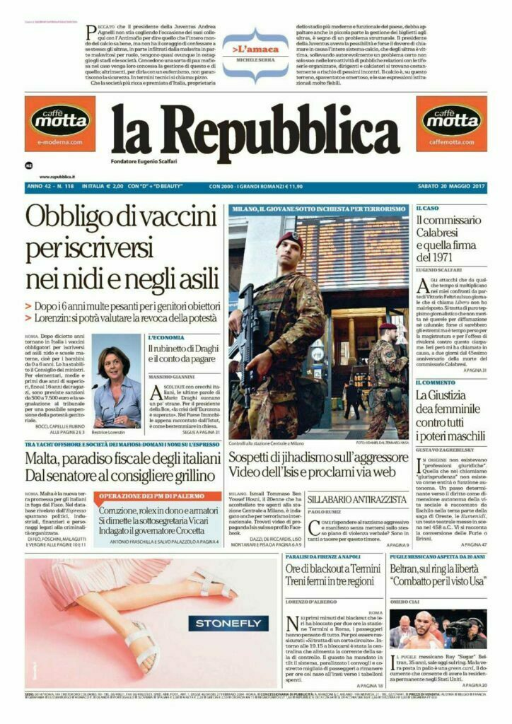 La Repubblica It Nel 2019: Gebrüder Thonet Vienna