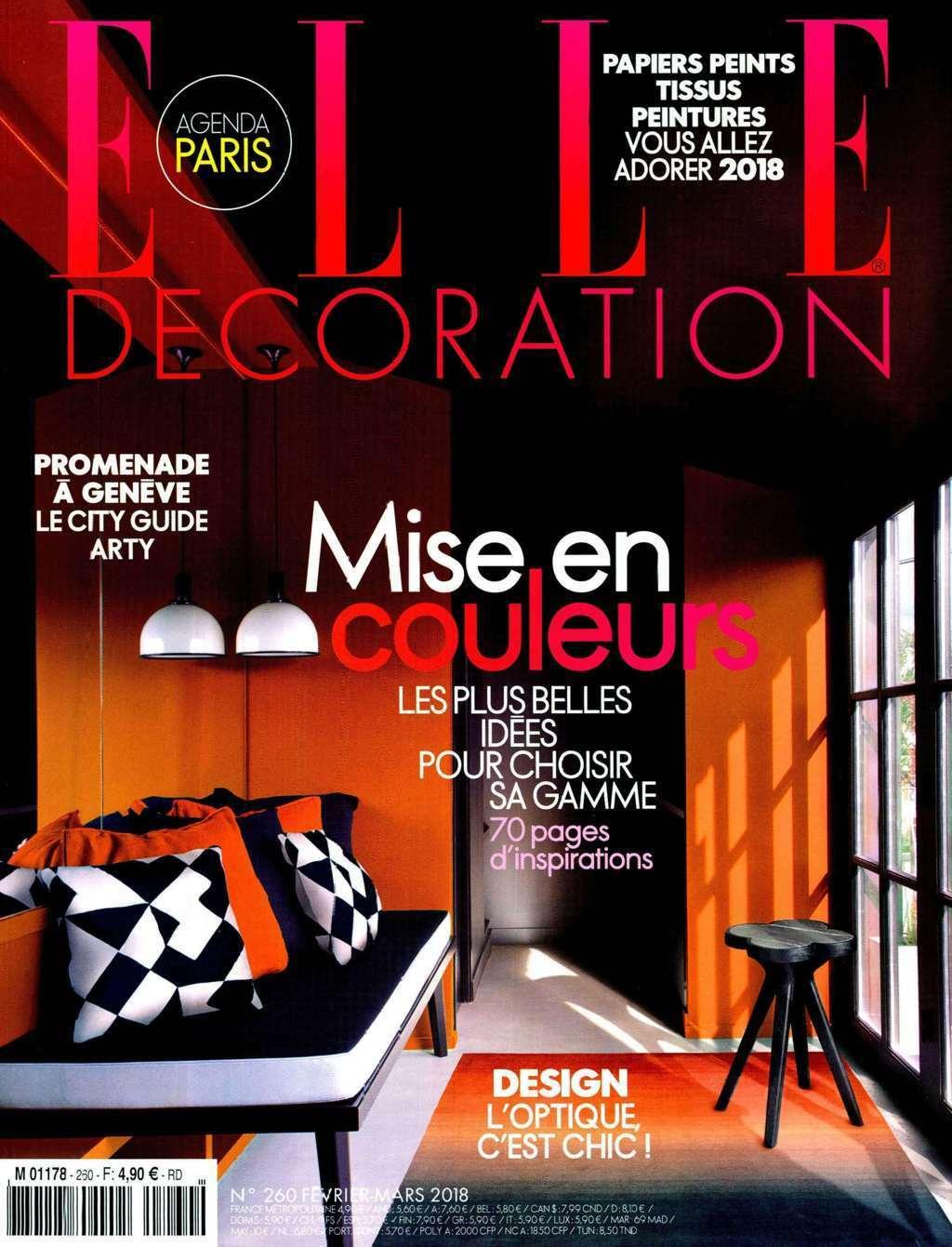 Elle decoration gebr der thonet vienna for Elle decoration france