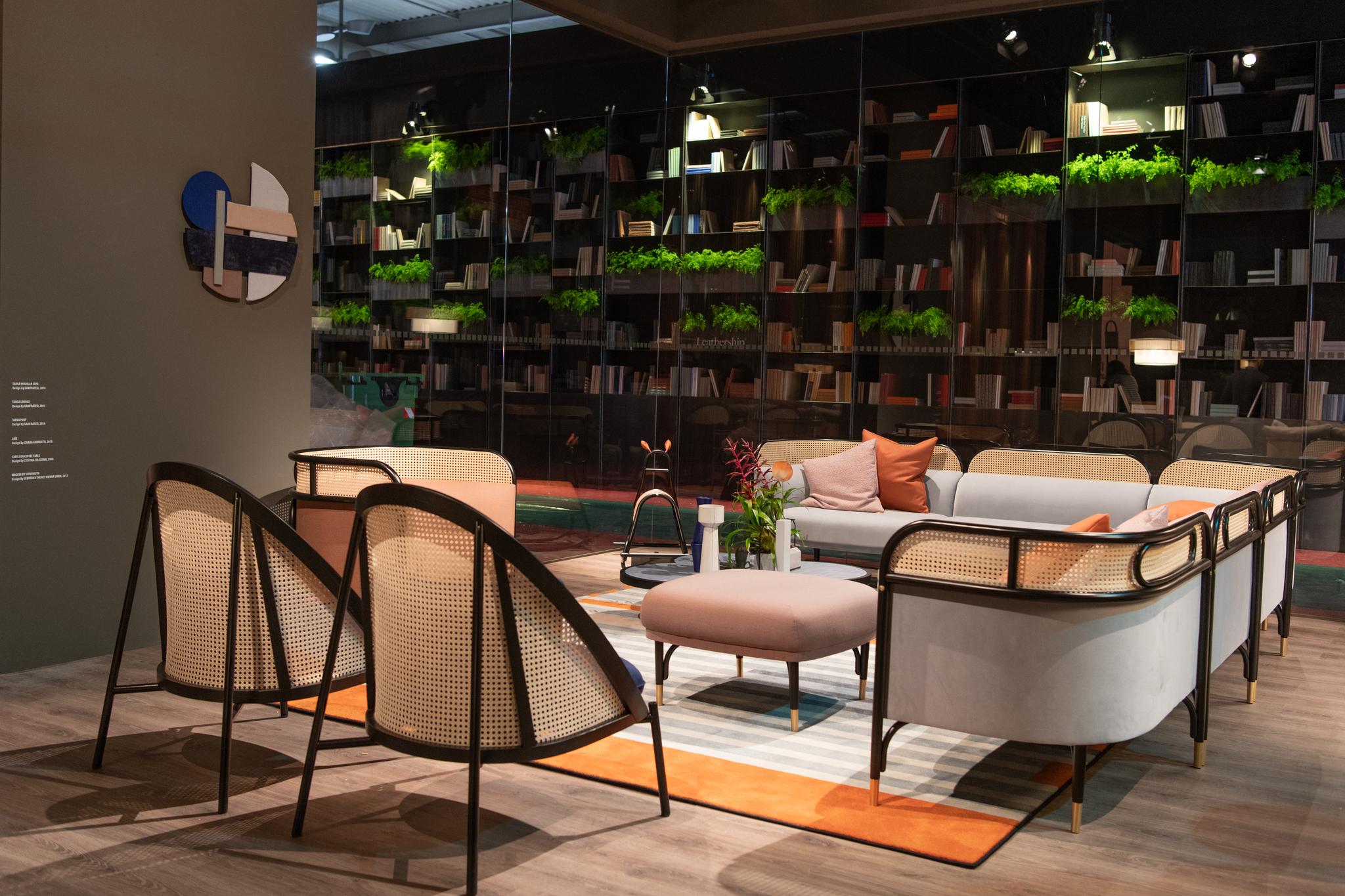 Gebr der thonet vienna gmbh gtv milano design week - Salone del mobile torino ...