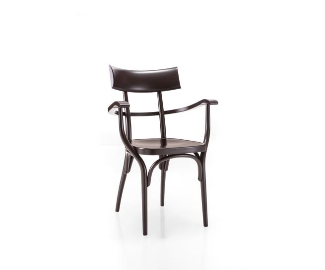 czech thonet armchair