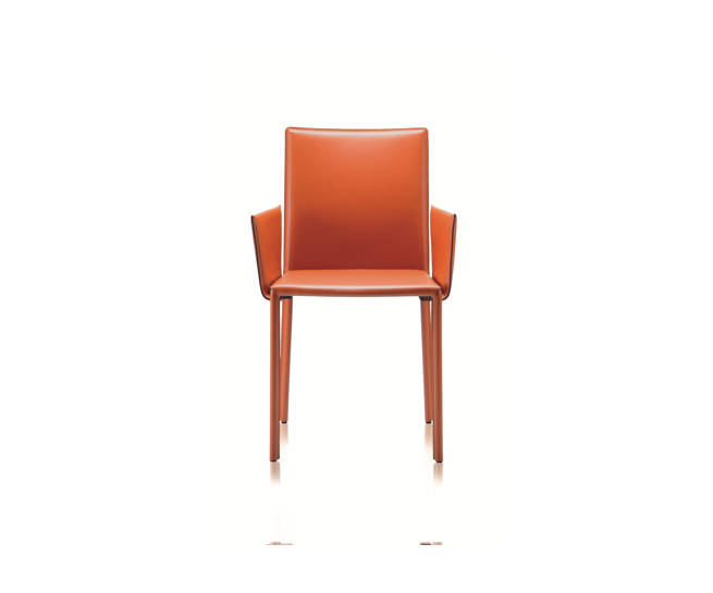 twiggy thonet leather chair