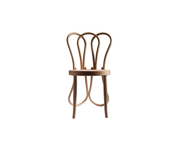 Post Mundus Thonet wood chair