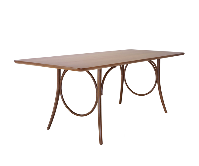 Thonet ring dining table