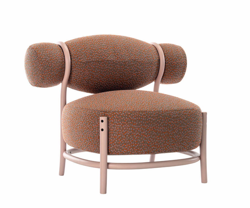 chignon thonet lounge chair by LucidiPevere