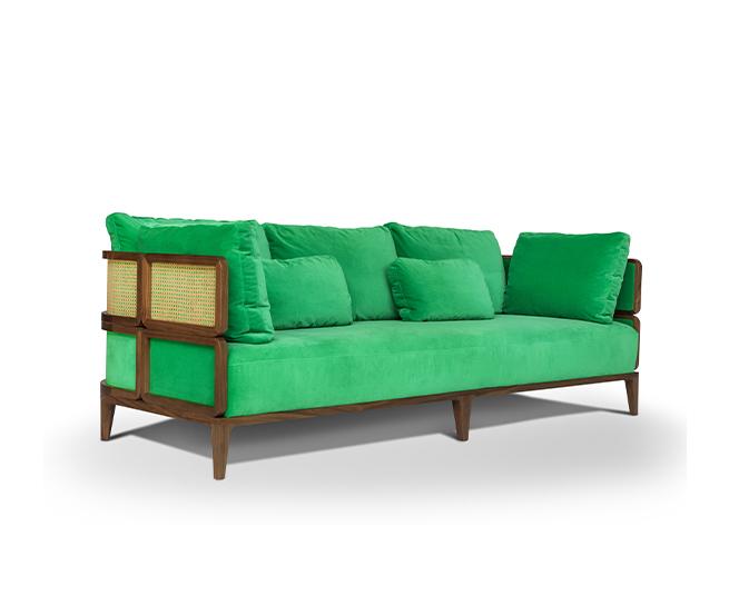 promenade lounge sofa thonet by Philippe nigro