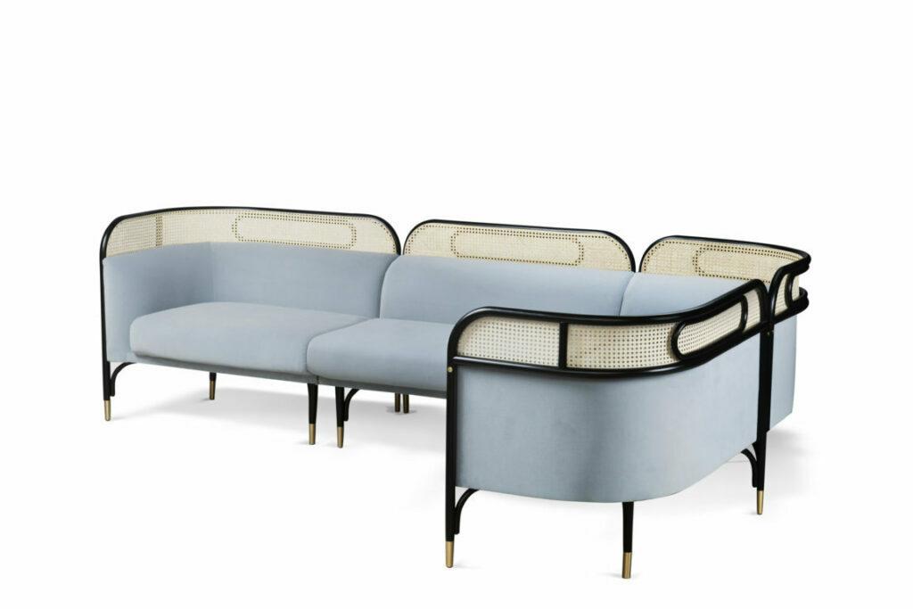 targa sofa thonet gamfratesi