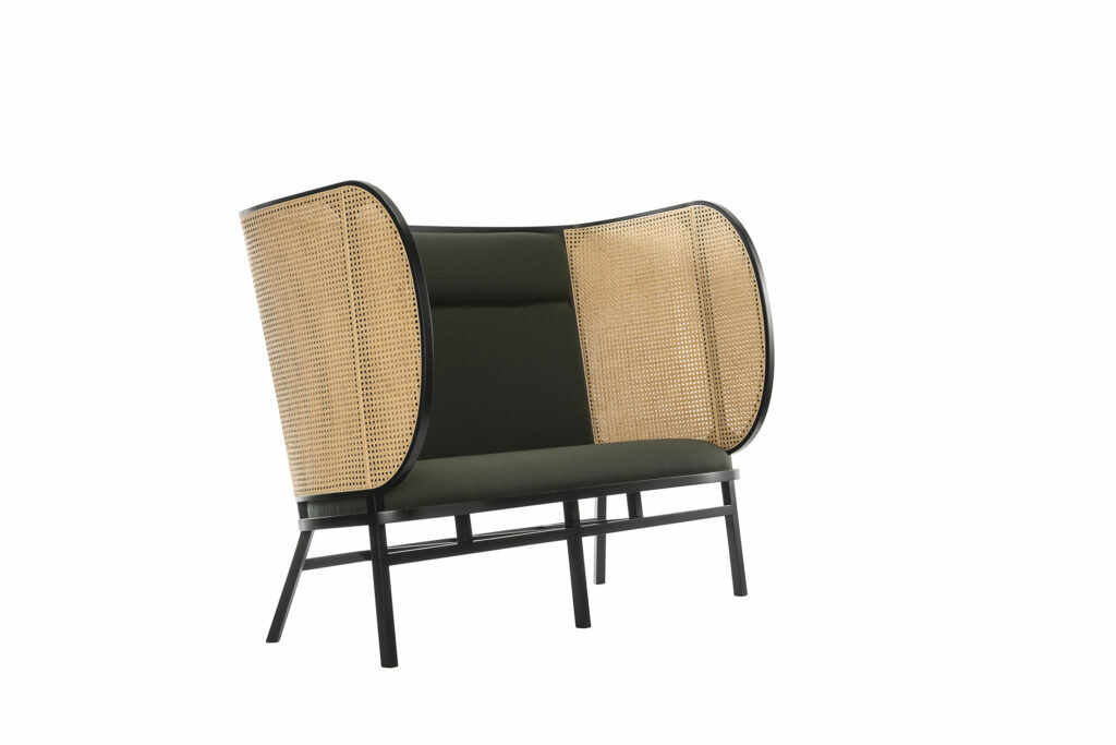hideout thonet lounge sofa by Front duo