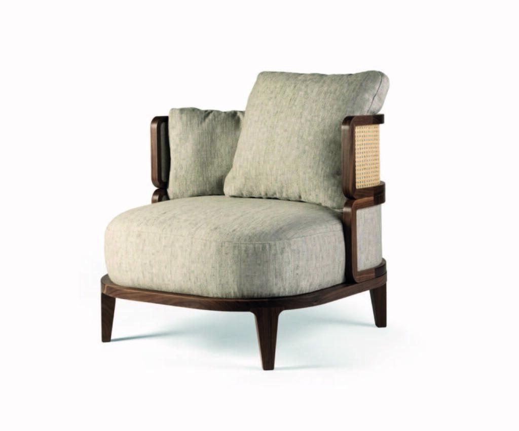 promenade thonet lounge chair by Philippe Nigro