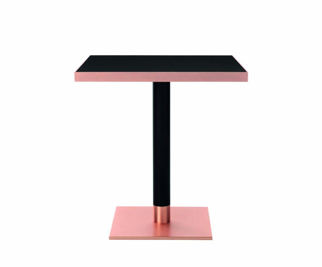 sherry thonet square bar table